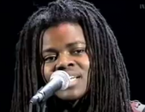 "Tracy Chapman sings ""Fast Car"""